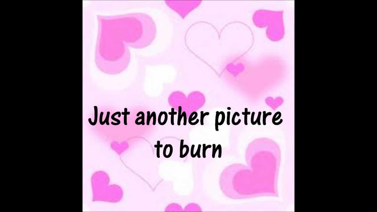 Taylor Swift - Picture to Burn lyrics - YouTube