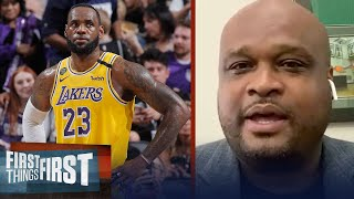 Lakers are in trouble, but LeBron can lead them through - Antoine Walker | NBA | FIRST THINGS FIRST