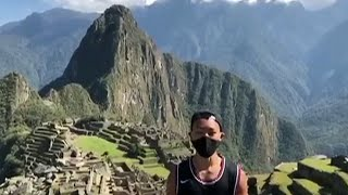 video: Peru opens Machu Picchu for a Japanese tourist who waited seven months to see Inca ruins