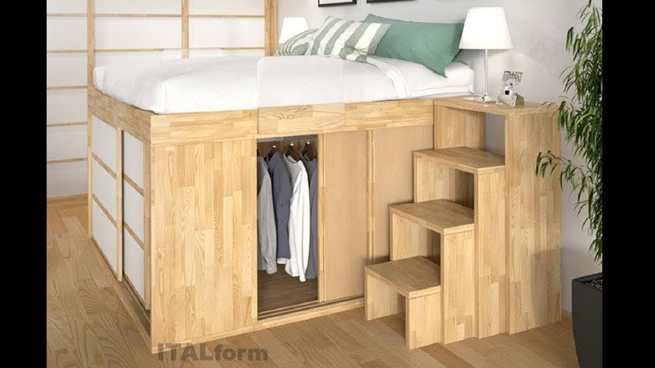 Incredible space saving furniture great ideas for small - Small space bedroom furniture ...