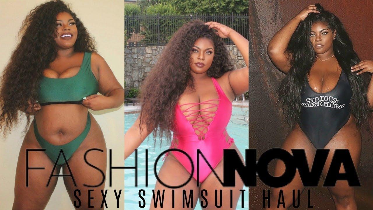 6b726b0d66e Sexiest Bikini Try on Haul Ft Fashion Nova Curve - YouTube