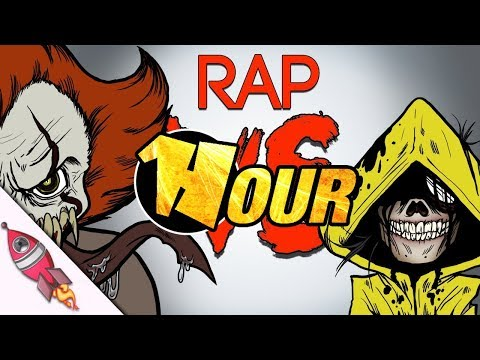 【1 Hour】 Little Nightmares vs IT Movie Rap Battle | Six vs Pennywise Song | Rockit Gaming