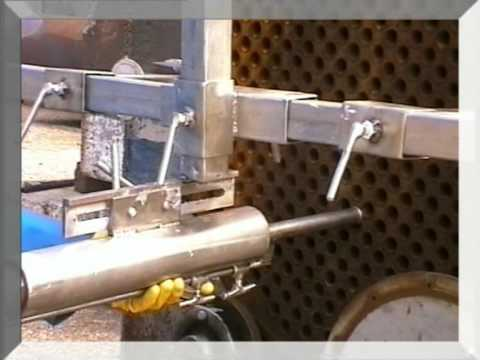 Maus Gmbh hydroblasting hose catcher schlauch fangvorrichtung made by maus