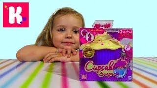 Кукла сюрприз Ароматные капкейки распаковка Cupcake Surprise doll unboxing