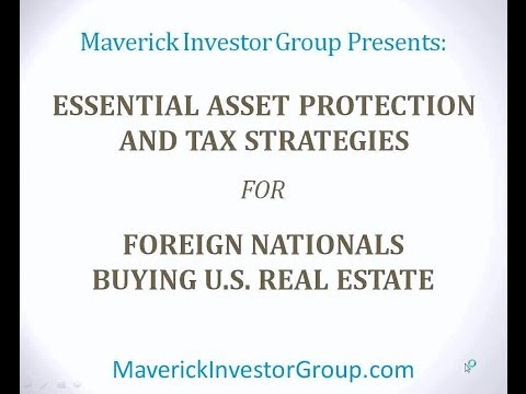 Diane Kennedy & Megan Hughes: Asset Protection for Foreign Nationals