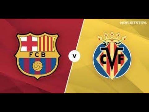 barcelona-vs-villarreal-la-liga-2/12/2018-live-stats-stream-with-commentary