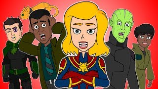 ♪ CAPTAIN MARVEL THE MUSICAL - Animated Parody Song