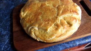 Закрытый овощной пирог - быстро и вкусно