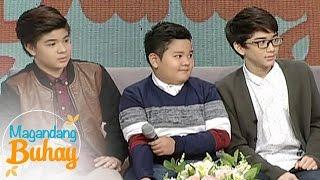 Magandang Buhay: Fast Talk with Zaijian, Bugoy and Clarence