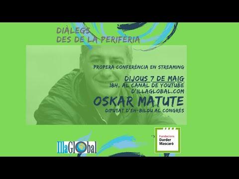 Conferència online d'Oskar Matute aquest dijous