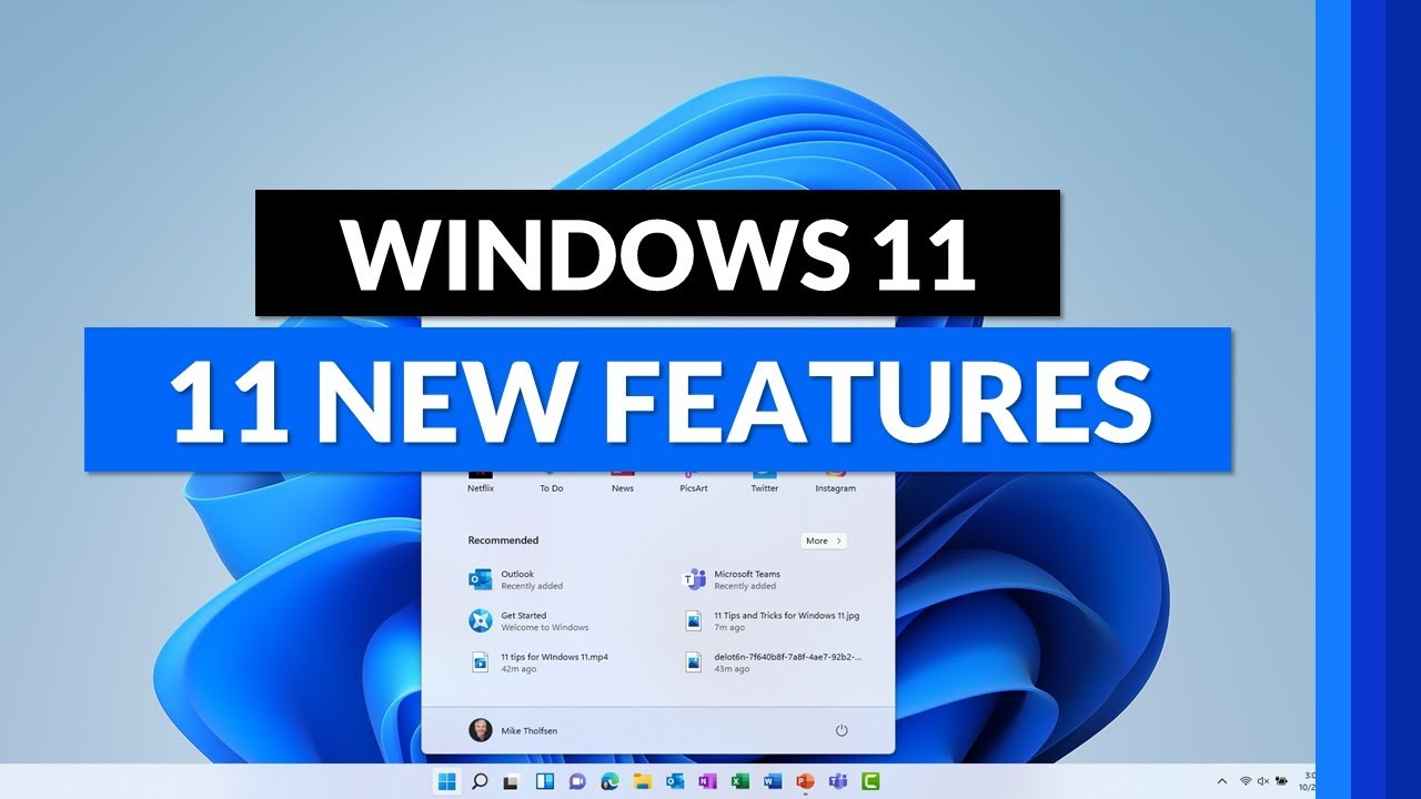 Top Windows 11 new features | The best Windows 11 Tips and Tricks for 2021