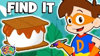 FIND the S'mores! 🍫A Drew Pendous Superhero Story! 🍫| Fun Kids Games at Cool School
