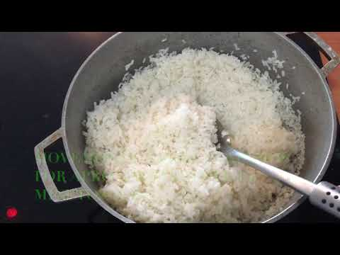▶️ HOW TO MAKE Puerto Rican WHITE RICE AND BEANS