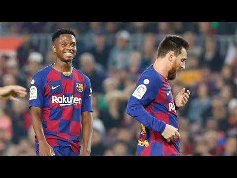 Download Lionel Messi & Ansu Fati Vs Celta Vigo - 2019   HD