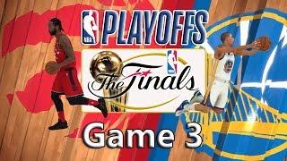 NBA 2K19 Ep07 finals game 3