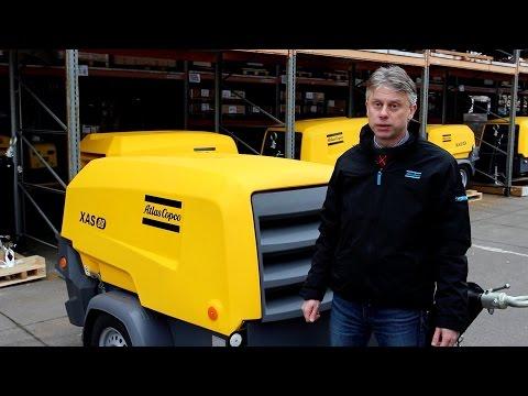 Видеопрезентация: новое поколение малых дизельных компрессоров Атлас Копко