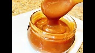 Карамельный Соус СЛИВОЧНЫЙ. Вы такой еще не пробовали!   Caramel sauce.