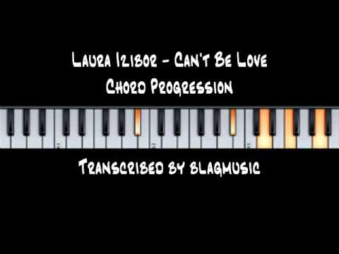 Laura Izibor Can't Be Love Piano Instrumental Backing Track