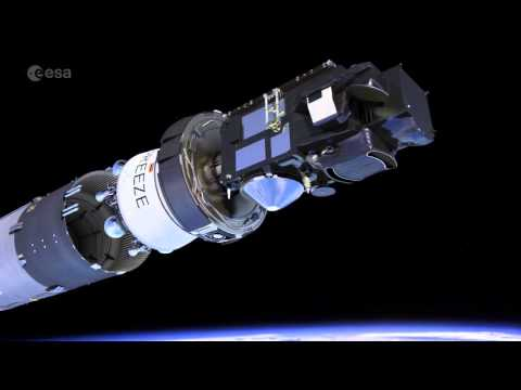 Sentinel-3 second stage separation
