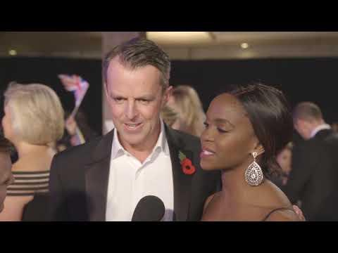 Graeme and Oti at the 2018 Pride of Britain Awards thumbnail