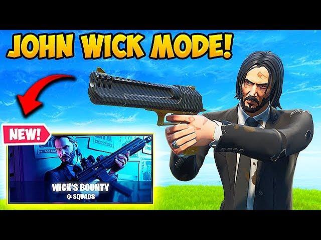 *NEW* JOHN WICK LTM IS INSANE! - Fortnite Funny Fails and WTF Moments! #559