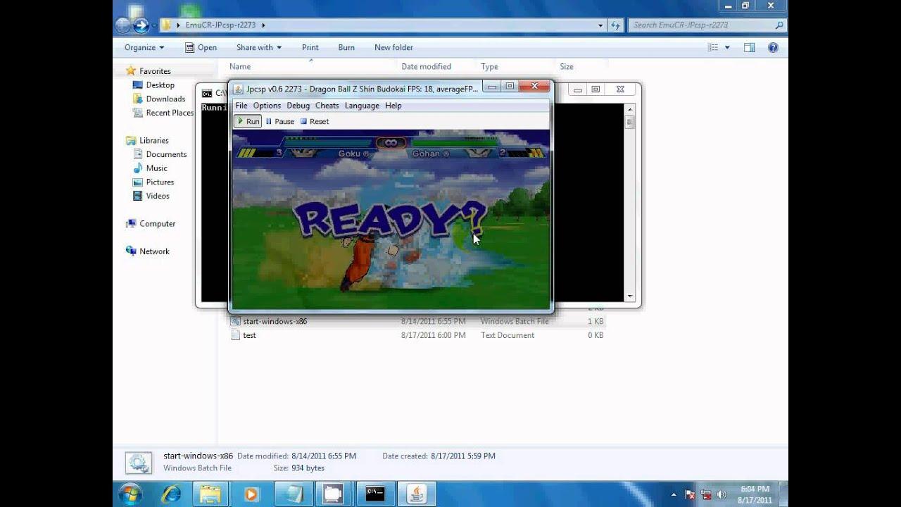 jpcsp emulator fps