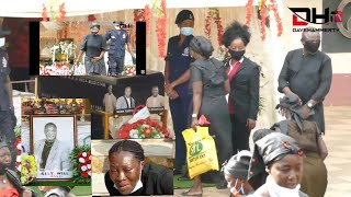 STARS ALL OVER AS NANA TUFFOUR AND BROTHER FINALLY LAID TO REST, TEARS ALL OVER