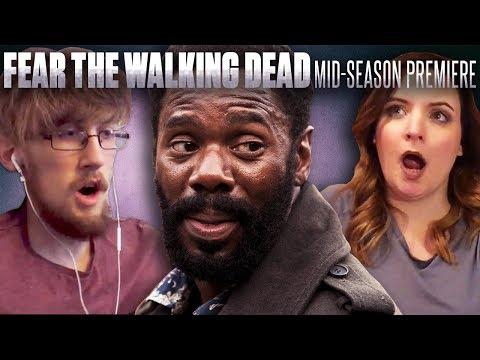 Fear the Walking Dead - Season 3 Episodes 9 & 10 Fan Reaction Compilation!