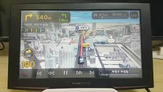 파인드라이브 IQ 3D 9000V 네비게이션 3D맵 모…