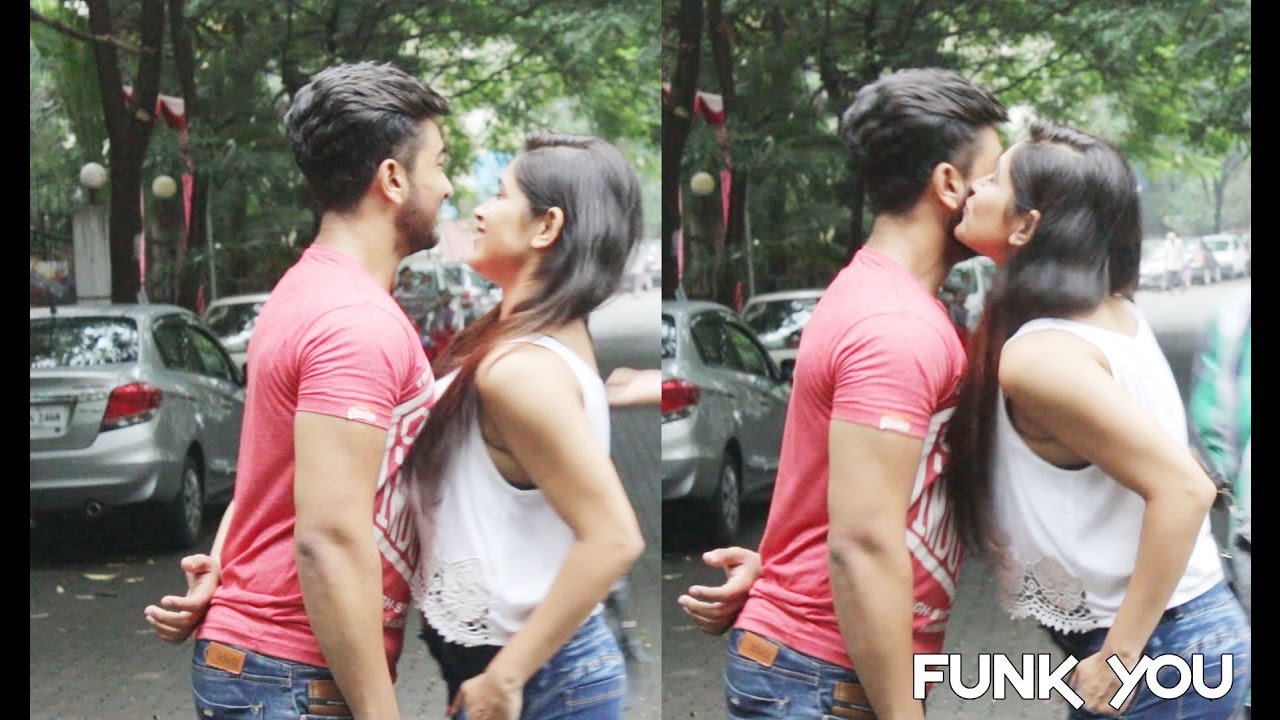 Hot Girl Kissing Strangers Prank With A Twist Funk You Pranks In India Youtube