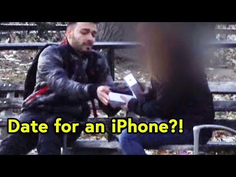 IPHONE X GOLD DIGGER EXPERIMENT