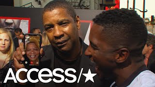 Denzel Washington Surprises Access' Scott Evans' Mom On FaceTime! | Access
