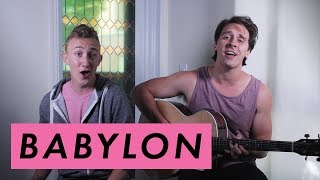 Babylon 5 Seconds Of Summer Acoustic Cover First In Flight