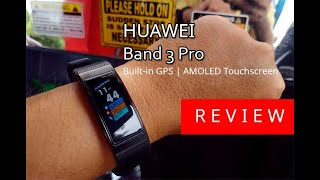 Review Huawei Band 3 Pro
