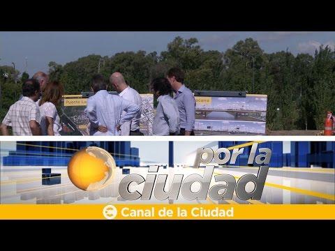 """<h3 class=""""list-group-item-title"""">Horacio Rodríguez Larreta anunció el inicio de obras del puente Lacarra - Por la ciudad</h3>"""