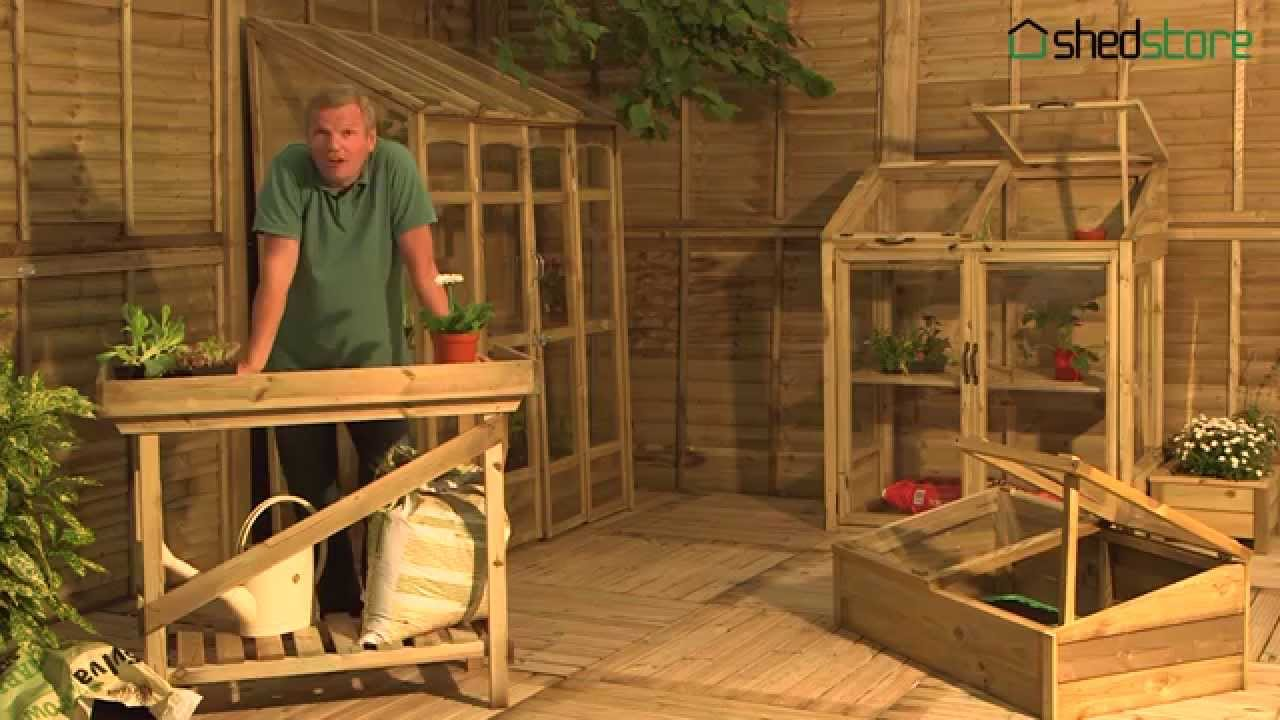Grow-Plus Greenhouses and Cold Frames - YouTube