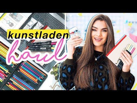 Kunstbedarf Haul - Neue Art Supplies zum...