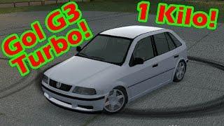 Gol G3 2.0 Turbo 1 Kilo Cortando giro! Live for speed Carros BR