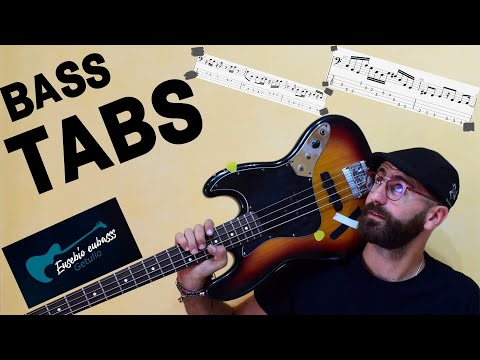 Elton John - Rocket Man BASS COVER + TAB + SCORE