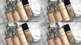 DIOR FOUNDATION COMPARISONS