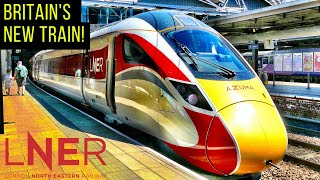 Britain's NEW high speed train: The AZUMA!