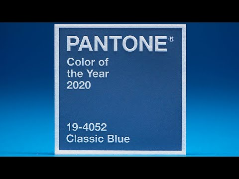 Letterpress Printing Pantone's Color Of The Year 2020: Classic Blue