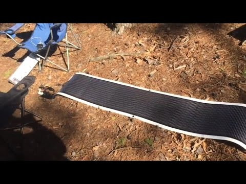 Rollable Solar panel Charger  Power Film R28 15.4V 1.8A portable,camp outdoors,boat,hike