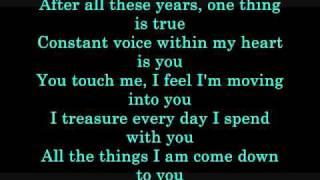 Amanda Somerville - Angel Of Mine Lyrics