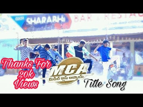 MCA Title song || Nani, SaiPallavi, DSP || Dance Cover By Dancer Praveen, Anand