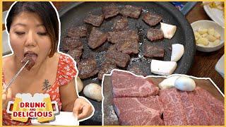 24HR KOREAN BBQ in Seoul, South Korea (TENDER AF BEEF!)