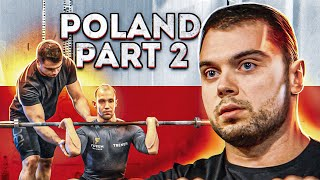 VLOG Poland #2: Tea¢hing athletes the best way to Clean and Jerk based on their individual body type