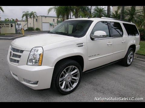 FOR SALE  $24,700.00  2013 Cadillac Escalade ESV Premium AWD with Navigation & rear DVD System