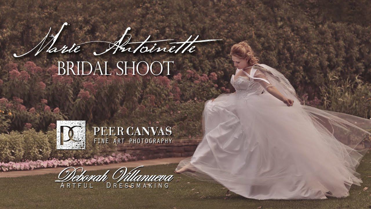 Marie Antoinette Princess Bride Peer Canvas Janesville Rotary Botanical Garden Wedding Photographer