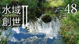 足し水なしで一年達成のビオトープ 水域創世Ⅱ- 48【4K】